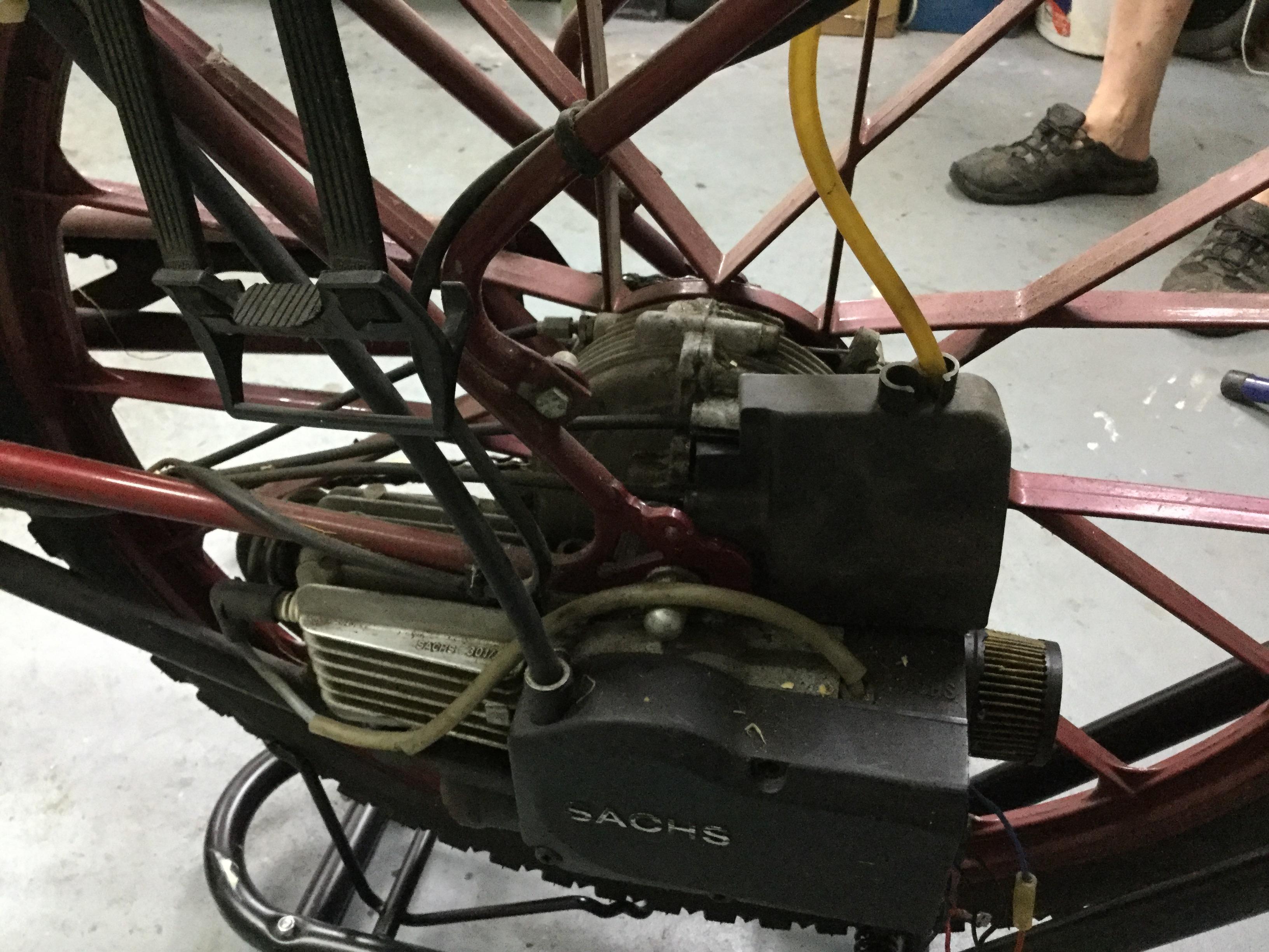 Saxonette Motor