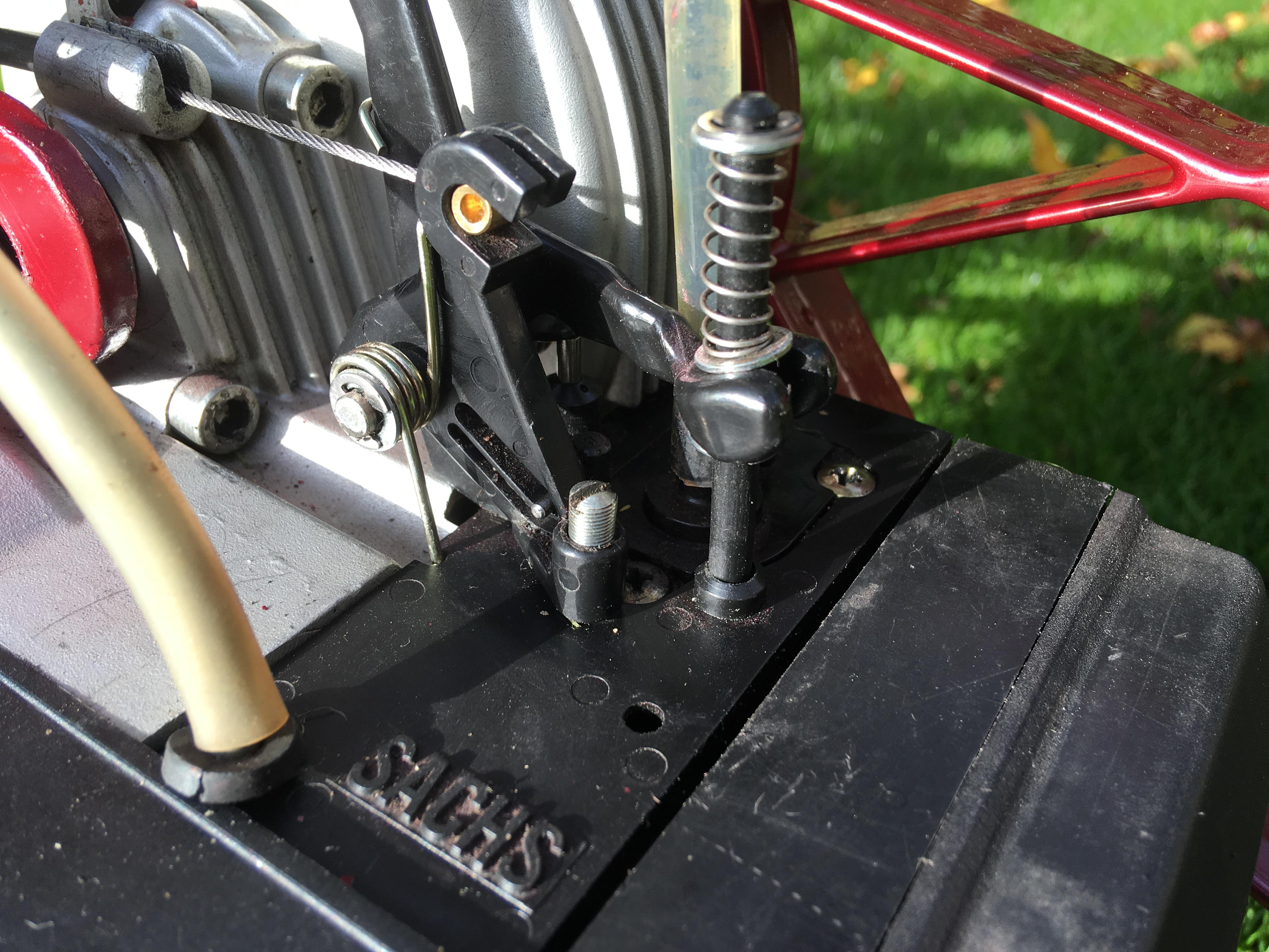 Saxonette Classic Gas und Choke