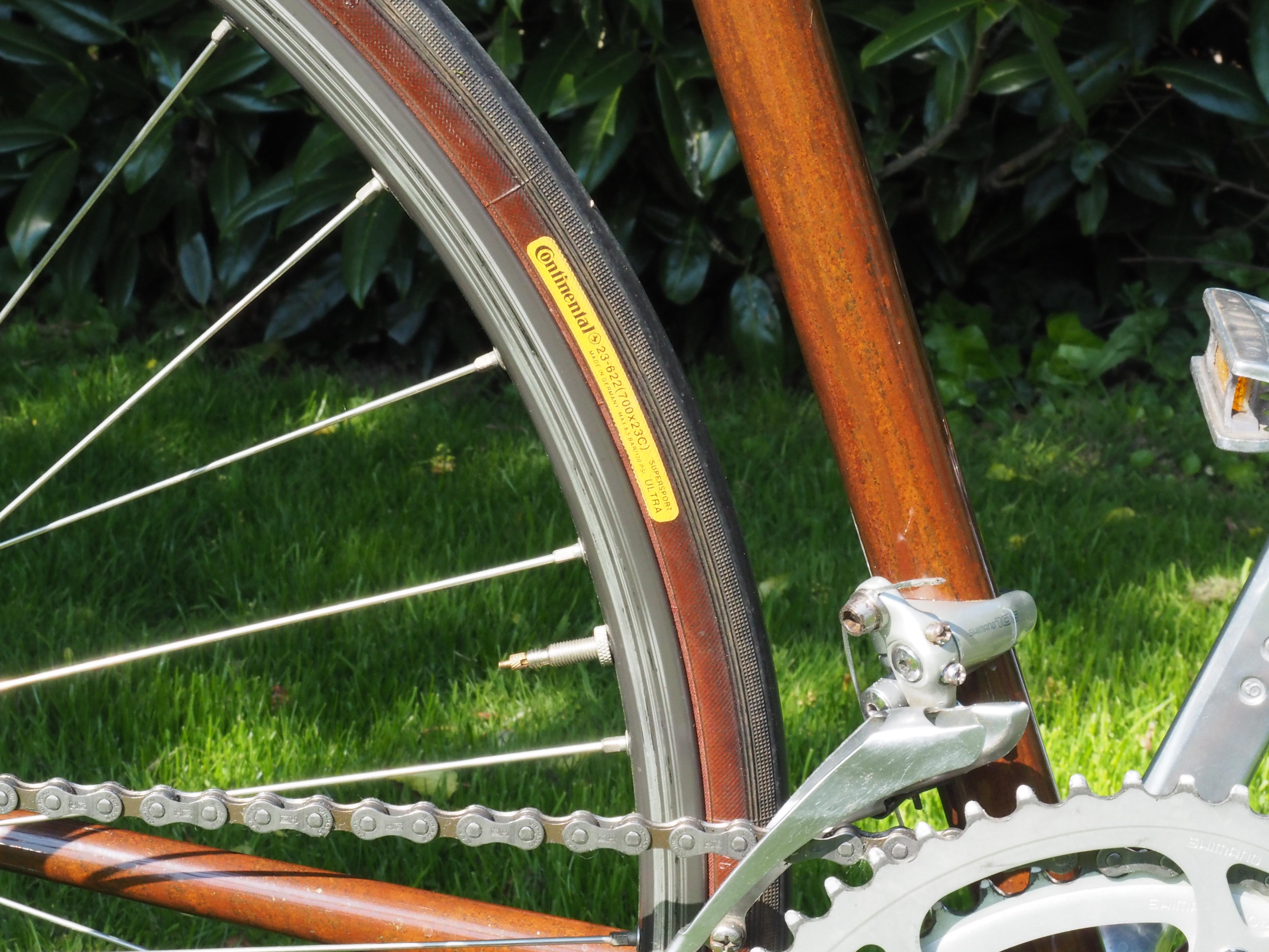 Edelrost-Speedbike